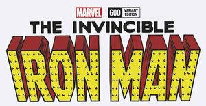 [Invincible Iron Man #600 (Blank Variant) (Legacy) (Product Image)]