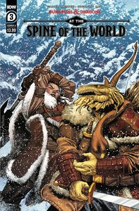 [Dungeons & Dragons: At The Spine Of The World #3 (Cover A Coccolo) (Product Image)]