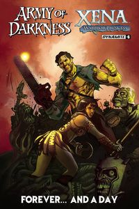 [Army Of Darkness/Xena: Forever & A Day #6 (Cover A Moritat) (Product Image)]
