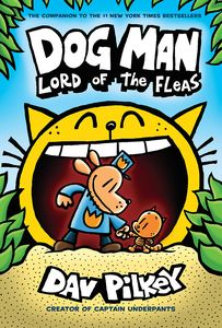 [Dog Man 5: Lord Of The Fleas (Hardcover) (Product Image)]