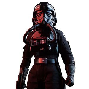 [Star Wars: Deluxe Action Figure: Imperial TIE Fighter Pilot (Product Image)]