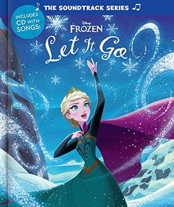 [Frozen: Let It Go + CD (Hardcover) (Product Image)]