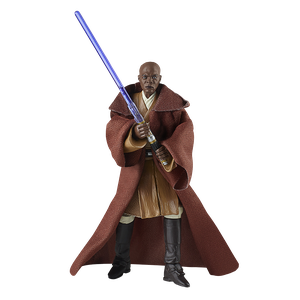 [Star Wars: Attack Of The Clones: Vintage Collection Action Figure: Mace Windu (Product Image)]