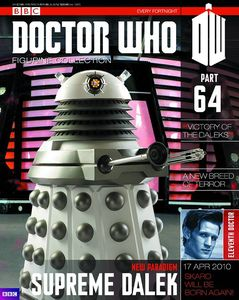 [Doctor Who: Figurine Collection Magazine #64 Supreme Dalek (Product Image)]
