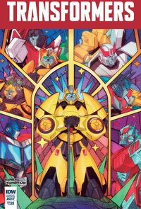 [The cover for Transformers: Annual 2017 #1]
