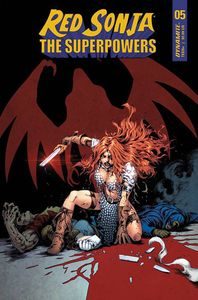 [Red Sonja: The Superpowers #5 (Cover D Lau) (Product Image)]