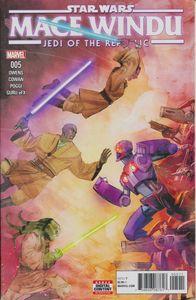 [Star Wars: Jedi Republic: Mace Windu #5 (Product Image)]