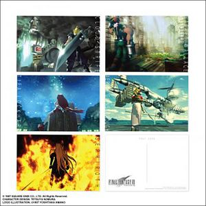 [Final Fantasy VII: Postcard Set: Image Art (Product Image)]
