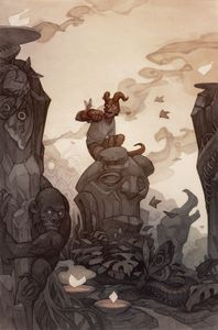 [Young Hellboy: The Hidden Land #3 (Cover B Beckert) (Product Image)]