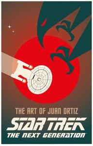 [Star Trek: The Art Of Juan Ortiz: The Next Generation (Hardcover) (Product Image)]