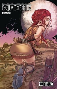 [Belladonna: Fire Fury #10 (Shield Maiden) (Product Image)]