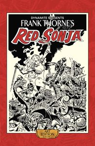 [Frank Thorne's Red Sonja: Art Edition: Volume 2 (Hardcover) (Product Image)]