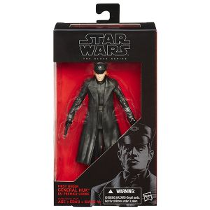 [Star Wars: The Force Awakens: Black Series: Wave 3 Action Figures: General Hux (Product Image)]