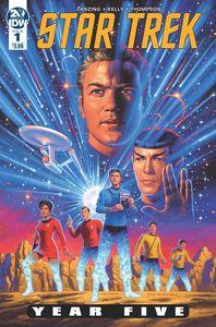[Star Trek: Year Five #1 (Hildebrandt) (Product Image)]