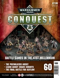 [Warhammer 40K: Conquest: Figurine Collection #60 (Product Image)]