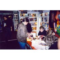 [Jeff Noon and Peter F Hamilton Signing (Product Image)]