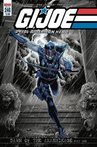 [GI Joe: A Real American Hero #246 (2nd Printing) (Product Image)]