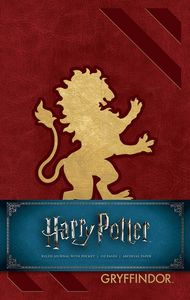 [Harry Potter: Gryffindor Ruled Journal (Hardcover) (Product Image)]