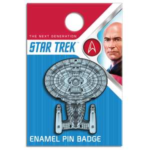 [Star Trek: The Next Generation: Enamel Pin Badge: Enterprise (NCC-1701-D) (Product Image)]