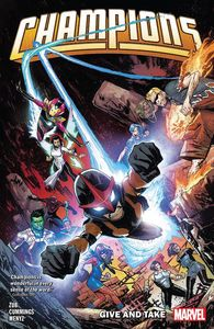 [Champions By Jim Zub: Volume 2: Give & Take (Product Image)]