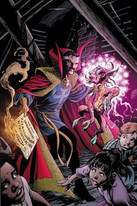 [Doctor Strange #18 (Davis Marvels 25th Tribute Variant) (Product Image)]
