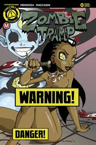 [Zombie Tramp: Ongoing #33 (Cover B Mendoza Risque) (Product Image)]