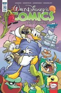 [Walt Disney Comics & Stories #740 (Cover A Freccero) (Product Image)]