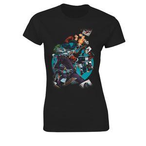 [Batman: Women's Fit T-Shirt: The Joker & Harley Quinn (Product Image)]