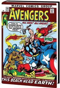 [Avengers: Omnibus: Volume 4 (Neal Adams DM Variant - Hardcover) (Product Image)]
