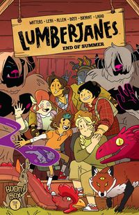 [The cover for Lumberjanes: End Of Summer #1 (Cover A Leyh)]
