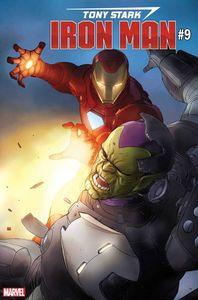 [Tony Stark: Iron Man #9 (Pham Skrulls Variant) (Product Image)]