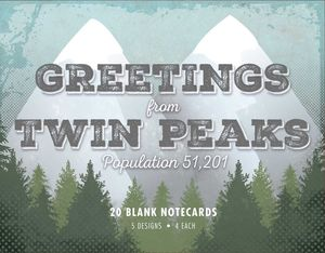 [Greetings From Twin Peaks: Notecard Collection (Product Image)]