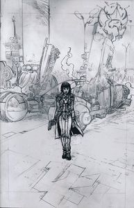 [Blade Runner 2019 #5 (Cover D Pope Virgin Sketch) (Product Image)]