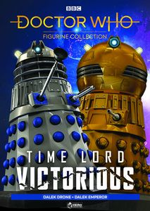 [Doctor Who: Time Lord Victorious: Figurine Collection Magazine #1: Dalek Emperor & Drone (Product Image)]