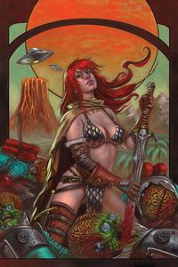 [Mars Attacks/Red Sonja #1 (Cover D Strati) (Product Image)]