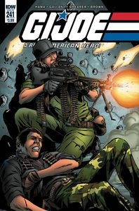 [GI Joe: A Real American Hero #241 (Product Image)]