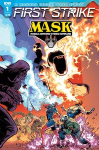 [Mask: First Strike #1 (Cover A Johnson) (Product Image)]