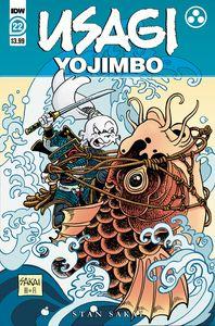 [Usagi Yojimbo #22 (Cover A Sakai) (Product Image)]