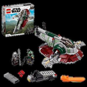 [LEGO: Star Wars: The Mandalorian: Boba Fett's Starship (Product Image)]