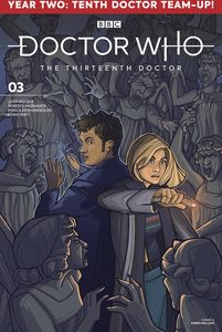 [Doctor Who: 13th Doctor: Season Two #3 (Cover A Hallion) (Product Image)]