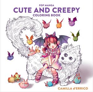 [Pop Manga Cute & Creepy Colouring Book (Product Image)]