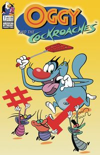 [The cover for Oggy & The Cockroaches #1 (Cover A Rankine)]