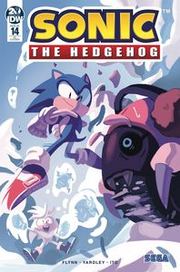 [Sonic The Hedgehog #14 (Fourdraine Variant) (Product Image)]