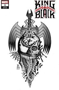 [King In Black #1 (Bederman Tattoo Variant) (Product Image)]