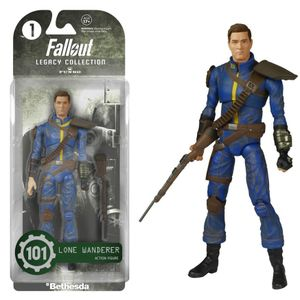 [Fallout: Legacy Collection Action Figures: Lone Wanderer (Product Image)]