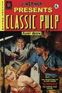 [The cover for Classic Pulp: Ellery Queen: Oneshot]