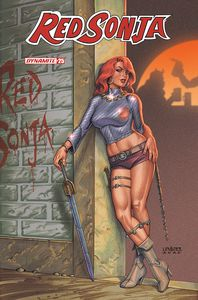 [Red Sonja #25 (Cover B Linsner) (Product Image)]