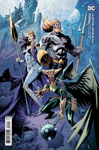 [Justice League #64 (Jason Howard Cardstock Variant) (Product Image)]