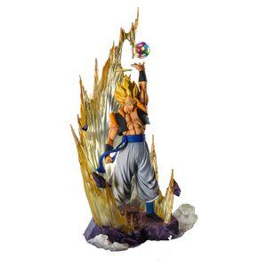 [Dragon Ball Z: Fusion Reborn: Figuarts Zero Figure: Super Saiyan Gogeta (Product Image)]