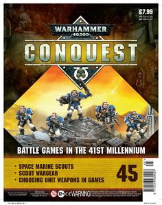 [Warhammer 40K: Conquest: Figurine Collection #45 (Product Image)]